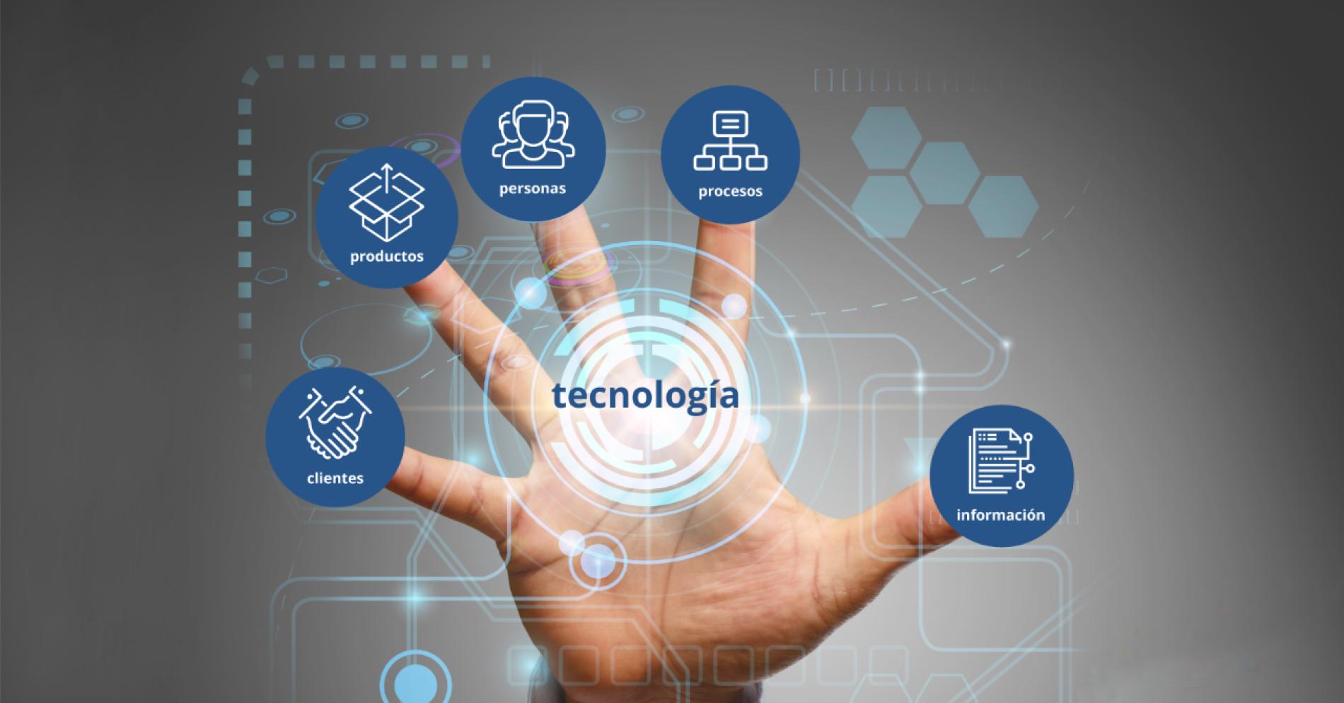 Reflejo de las distintas áreas a las que implica la digitalización en las organizaciones